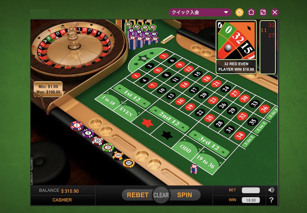 テーブルゲームのペイアウト率(RTP)は?