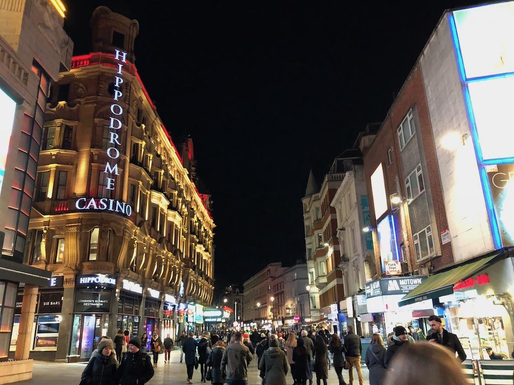 ロンドンのヒッポドロームカジノ