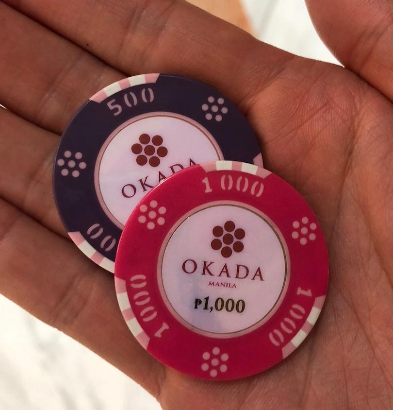 カジノのチップの種類